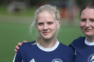 Thelma Lindkvist stod för två mål i segern mot Rådmansö SK.