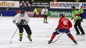 AIK hade stora problem med att få stopp på AIK och Patrik Nilsson i framför allt inledningen av matchen.