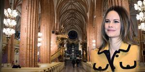 Prinsessan Sofianärvarar vid Gålöstiftelsens julkonsert i Storkyrkan, Stockholm. Foto: TT