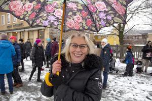 Pia Möllgård var nöjd med uppslutningen.