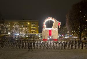 På lördag byggs det bock i Gävle.