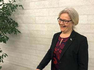 Moni Lundström är stolt över att hennes BRA håller tiderna så bra.