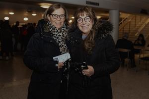 Maritha Heldesjö och Giuseppina Grimaldi. Bild: Martin Bohm