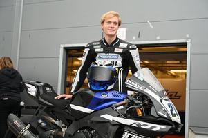 Nu väntar militärtjänst för Joel Marklund – men han kommer att beviljas ledigt för att tävla och träna. Foto: MotoFoto.se