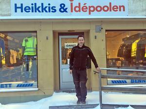 Mats Oskarsson är ansvarig för butiken som flyttat in i nya lokaler i centrala Malung.