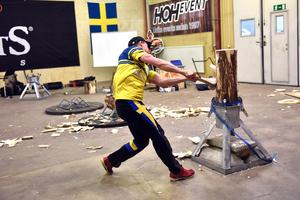 Ferry Svan visade upp sina färdigheter inför publiken i Orsa.