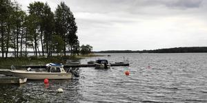 Erken i Norrtälje är kommunens största sjö. Foto: Katarina Andersson
