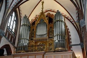 Kyrkoherde Anna Stenund berättar att hela processen med orgeln har varit ganska rörig:
