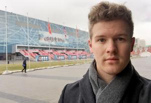 Hockeypuls Adam Johansson var på plats i Moskva för att följa Erik Gustafsson och Anton Lander.