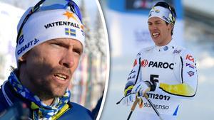 Johan Olsson kan offra en eventuell medaljchans för att Marcus Hellner ska ta sin.