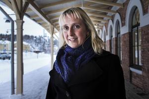 Marie Nordmark är projektledare för det gemensamma utbildingsförbundet i Hälsingland.