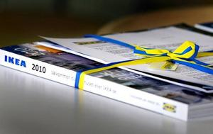 En ny katalog. Ett stimulanspaket, menar varuhuschefen.
