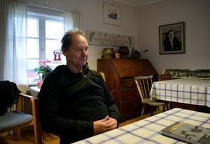 Jörgen Danielsson är ny ordförande för Malungs hembygdsförening sedan i år.
