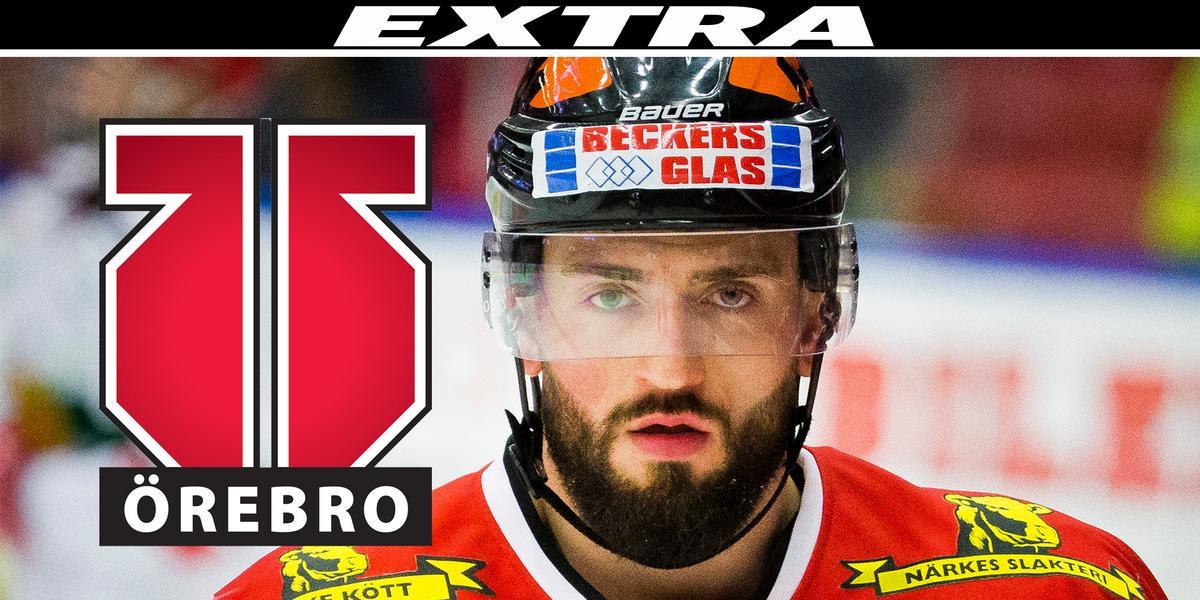 """Nick Ebert återvänder till Örebro Hockey – NA sände live: """"Han är fansens spelare"""""""