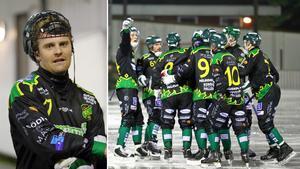 Victor Wareborn har varit en uppskattad lagkapten i Frillesås, men väljer trots elitserieavancemanget att avsluta karriären. Bild: Mårthen Backlund/Frillesås Bandy