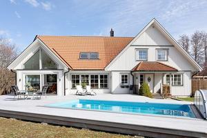 Villan på Tidö-Lindö.Foto: PAX Fastighetsmäkleri