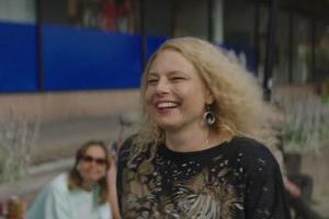 Helena Bergström som Dyr-Gunilla.Bild: SF Studios