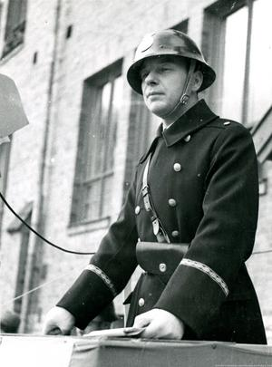 Landsfiskal David Nohrenius. Bild: Lindesbergs kommuns kulturhistoriska arkiv.