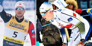 Sindre Björnestad Skar sågade svenskarnas taktikval i sprinten. Bild: TT/Montage