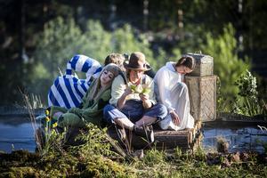 Miriam Forsberg, Thomas Hedengran och Anna Ulin spelade två somrar i Dunderklumpen i Döda fallet.