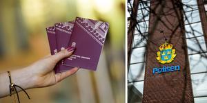 Polisens passystem kommer att vara stängt 30 november-2 december. Bilder: Fredrik Sandberg/TT / Maria Eilertsen