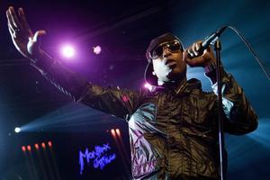 Talib Kweli uppträder i Borlänge. Arkivbild. Foto: Jean-Christophe Bott/AP