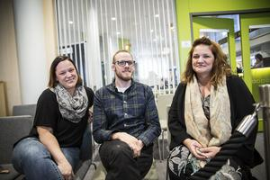 Veronica Halvarsson, Jonas Galfvensjö och Hanna Mårskog jobbar vid Ifo och har deltagit i försöket.