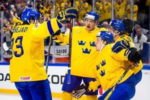 Superkedjan med Rakell, Zibanejad och Janmark var hetast även mot Tjeckien. Bild: Ludvig Thunman/Bildbyrån