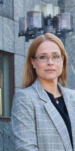 Anna Nordin (M), 2:e vice ordförande i äldrenämnden.