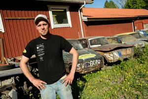Tobias Svärd är en av många framgångsrika förare som ska göra upp om segern i finalen.