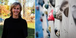 """""""Idrottsplatsen handlar inte bara om idrott. Det är en naturlig mötesplats och bidrar till minskat utanförskap"""", skriver Eva Lignell. Foto: Privat/Christine Olsson/TT/montage"""