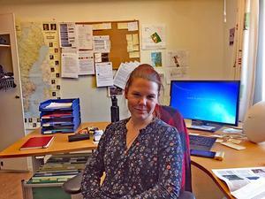 Miljöinspektör Gisela Åberg är kommunens projektledare för saneringsarbetet vid Malungs garveri.