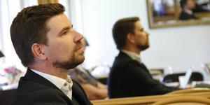 Kommunstyrelsen vill inte riskera att behöva ta ansvar för Markus Evenssons Skottlandsresa.