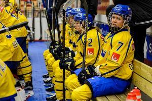 Hälften av spelarna i Damkronorna har funderat på att sluta. Foto: Peter Skaugvold (Bildbyrån).
