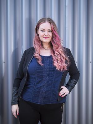 Idag berättar Anneli Söderlund om hur det är att bli utsatt för sexuella övergrepp som barn i föreläsningen Släpp skammen.  Bild: Mattias Sundberg