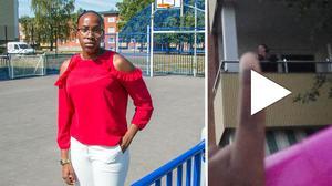 Daniella Iteriteka säger att hon och hennes kompisar ofta möter rasism i vardagen.