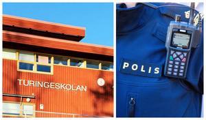 Efter en obehörig person vistas på två skolor i Nykvarn, har kommunen polisanmält händelsen.