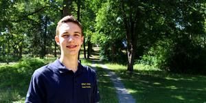 Benjamin Verbeek är en av fem gymnasister som deltog i OS i fysik 2019. Tävlingen hölls i Tel Aviv i Israel.