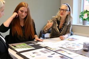 Inredningsprojektet har skett i nära samarbete mellan Kumla kommun och kursdeltagarna på Hällefors folkhögskola.