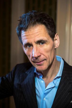 David Lagercrantz är aktuell med boken Mannen som sökte sin skugga.Foto: PRESSBILD