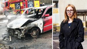 Sabina Kilpinen larmade räddningstjänsten under söndagsmorgonen.