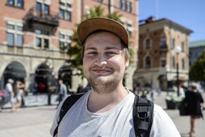 Viktor Parment, 23 år, fotograf, Sundsvall.