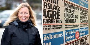 Susanne Fredriksson är chefredaktör och ansvarig utgivare på Nynäshamns Posten.