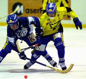 Dan Hjelm under en en träning i Falu BS 2005. Foto: Mikael Forslund
