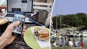 Behöver du en digital detox i sommar? Bilder: Christine Olsson/TT och Hasse Holmberg/TT.