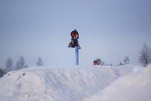 Under lördagen deltog John Stenberg i nordiska mästerskapen för första gången.