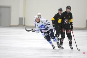 Marcus Lindholm gav Rättvik en blixtrande start på matchen via sitt tidiga 1–0-mål.