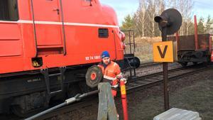 JUST NU: Här bärgas urspårade tåget – totalstopp i tågtrafiken till och från Örebro