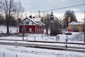 """Kan """"Fackens hus"""" vid Kajvägen, nära Lidl och järnvägen , göras om till bostadshus om det får en privat ägare? Det tror Ludvika Kommunfastigheters styrelseordförande."""
