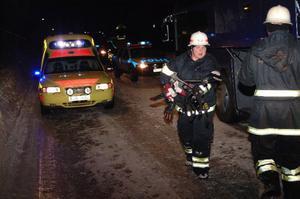 Lyckligtvis hände olyckan när räddningstjänsten i Åre hade avbyte och två lag fanns på plats. Annars hade personalen inte räckt till.